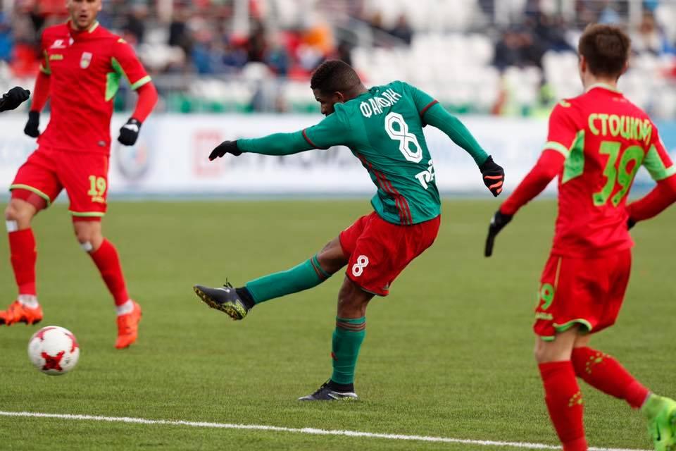 Revive el primer gol de Jefferson Farfán con el Lokomotiv de Moscú.