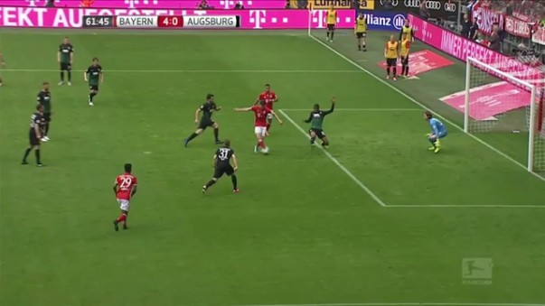 Revisa el golazo de Thiago Alcántara tras la gran jugada de sus compañeros.