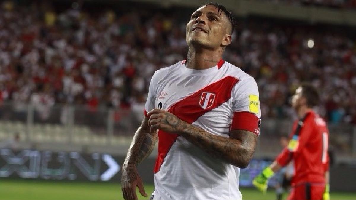Paolo Guerrero tiene cinco goles con la Selección Peruana en las Eliminatorias Rusia 2018.