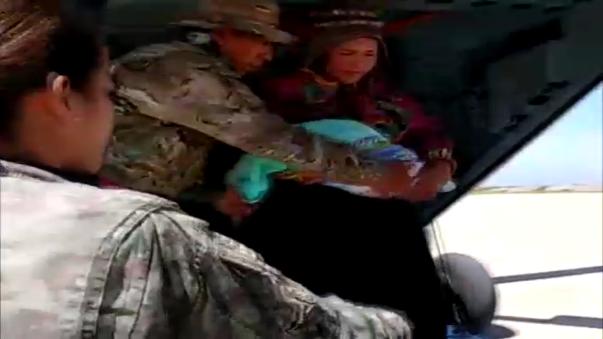 Se rescataron a dos pacientes que se mantenían aislados en el distrito andino de Inkahuasi.