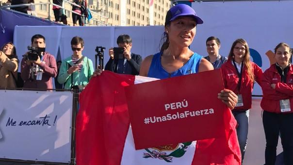 Inés Melchor logró un tiempo de dos horas, 34 minutos y 7 segundos