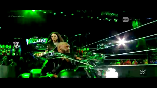 Triple H año tras año marca tendencia en WrestleMania.