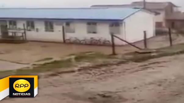 Imágenes de las lluvias e intensas granizadas que se presentaron en el distrito de Pisac.