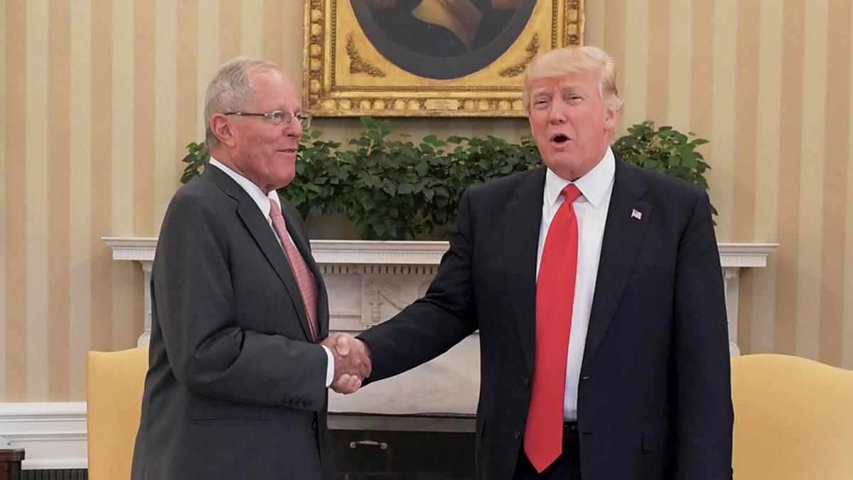 En febrero, PPK se convirtió en el primer presidente latinoamericano en reunirse con Trump tras su llegada a la Casa Blanca