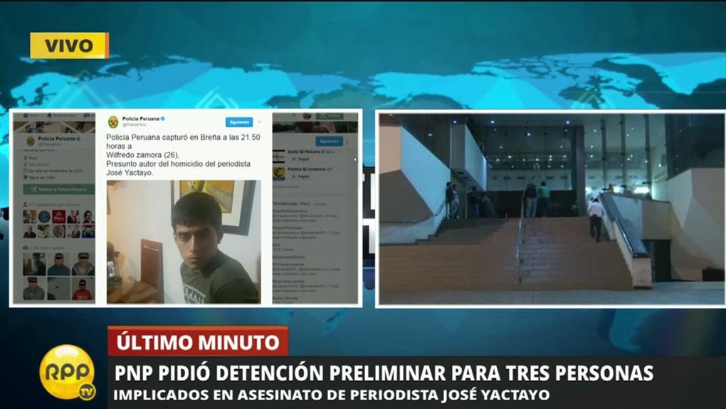 El jefe de la Dirincri Miguel Núñez dio detalles de la detención de Wilfredo Zamora en RPP Noticias.
