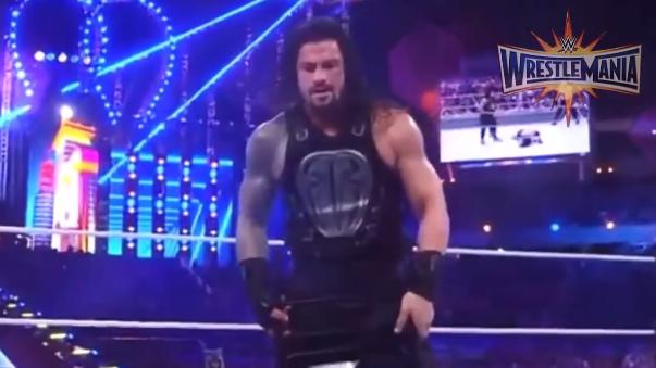 Roman Reigns fue el encargado de retirar al Undertaker en WrestleMania 33.