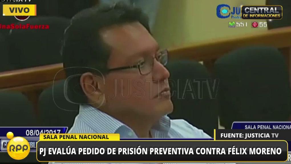 La audiencia para decidir la situación legal de Félix Moreno tomó más de 12 horas.