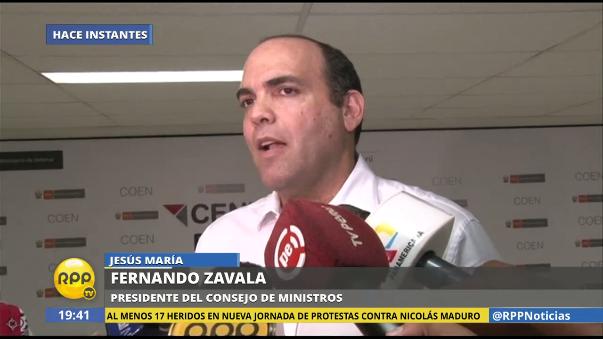 Fernando Zavala viajará a Piura para monitorear los avances en la reconstrucción.