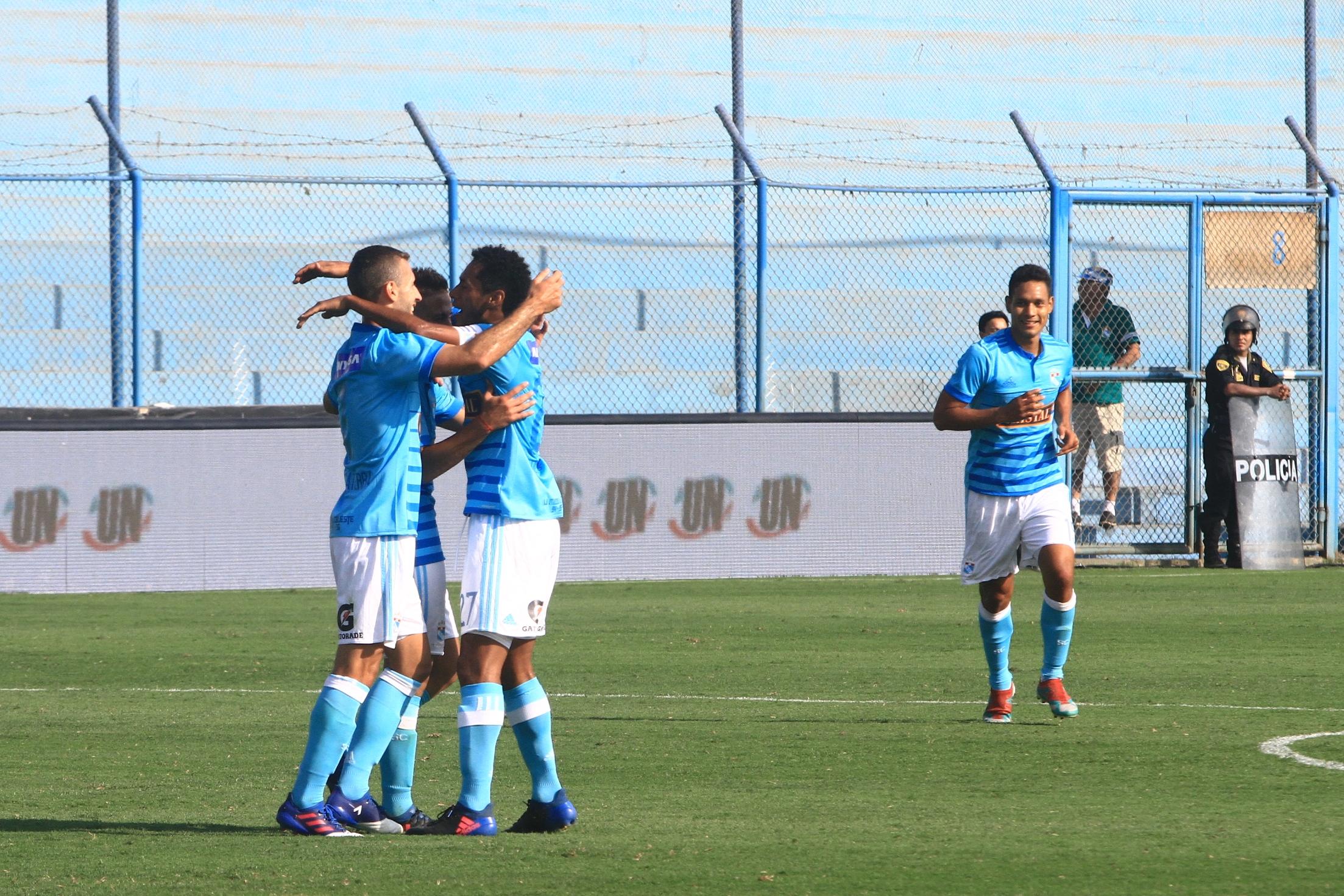 Resumen del partido entre Sporting Cristal y Sport Rosario.
