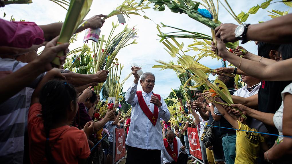 El Domingo de Ramos se celebra en todo el mundo cristiano.