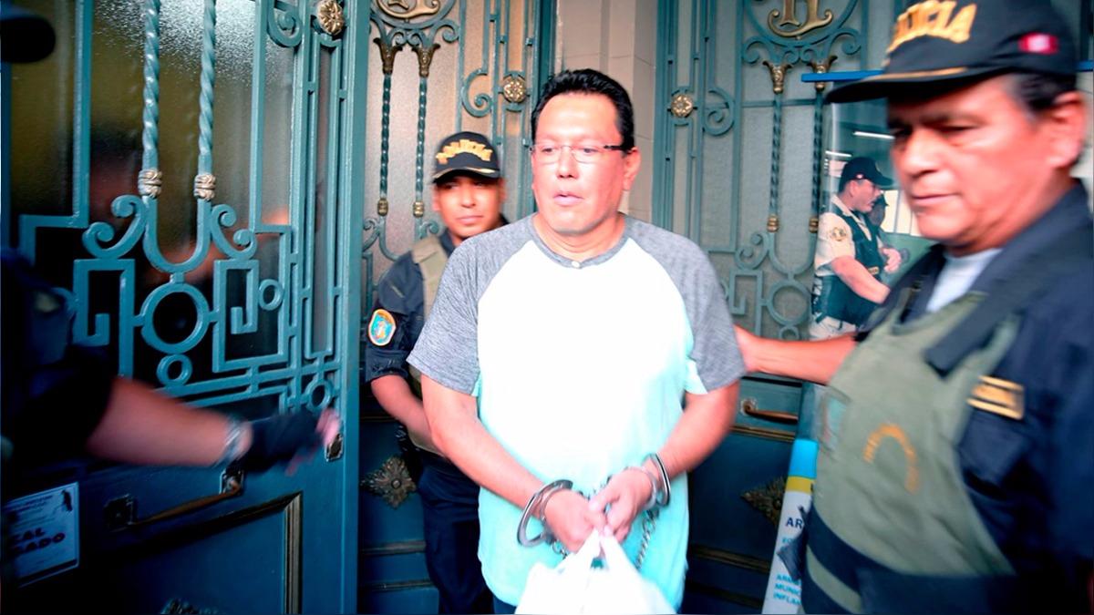 El Poder Judicial dictó el sábado por la noche 18 meses de prisión preventiva para Félix Moreno por presuntas coimas de Oderbecht.
