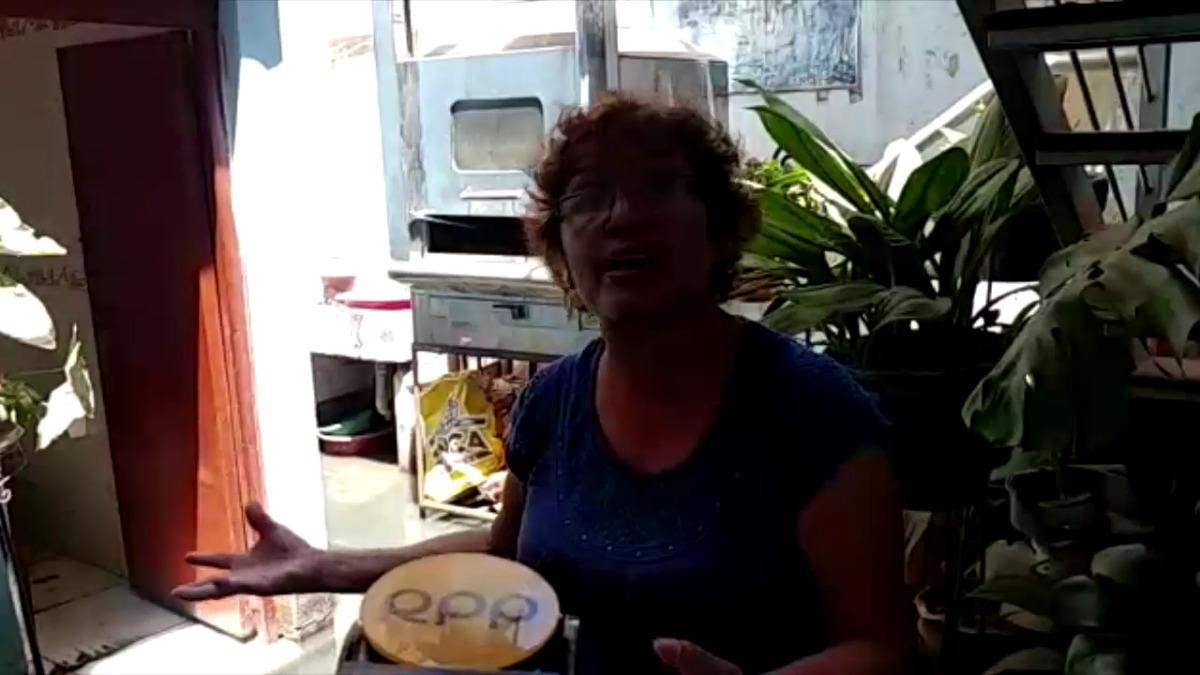 Doña Emelina Rafael es otra damnificada en José Leonardo Ortiz, en Chiclayo.