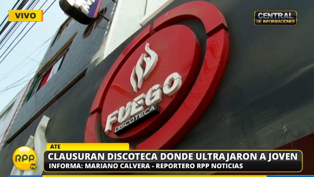 La discoteca Fuego funciona en Ate desde el 2017.
