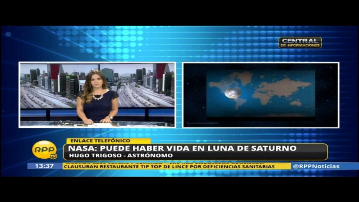 Hugo Trigoso, astronómo peruano, comentó la noticia de la NASA.