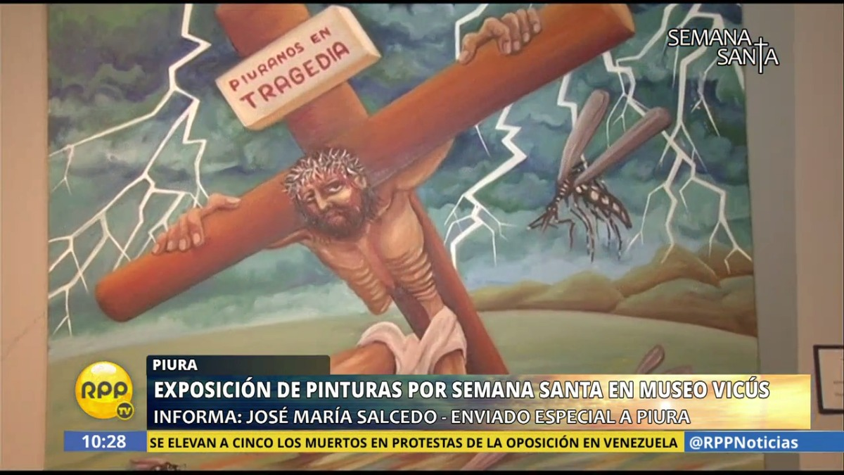 RPP Noticias visitó Piura para conocer cómo se vive la Semana Santa en medio de la recuperación tras el paso del Fenómeno El Niño Costero.