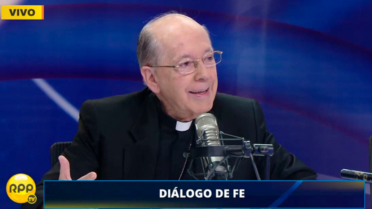 El cardenal Cipriani habló sobre un reciente