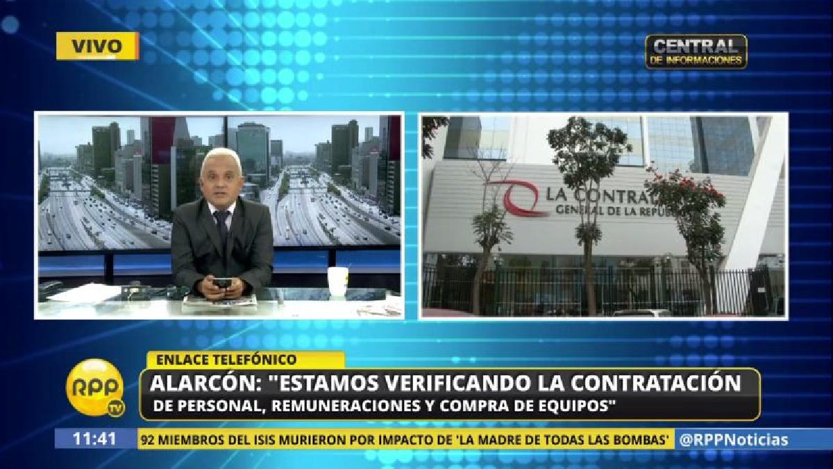 El contralor reconoció que una de las auditorías busca descartar vínculos del municipio de La Perla con la gestión de Félix Moreno.