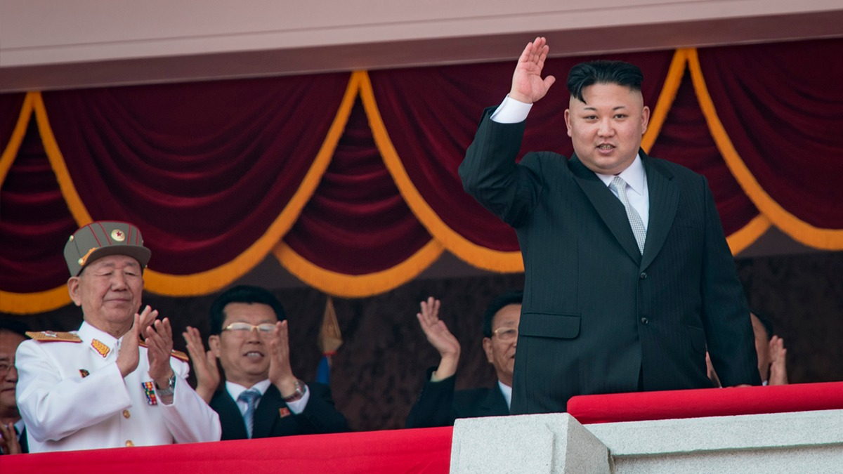 El desfile coincidió con el mensaje de Corea del Norte a Estados Unidos: están listos para cualquier guerra.