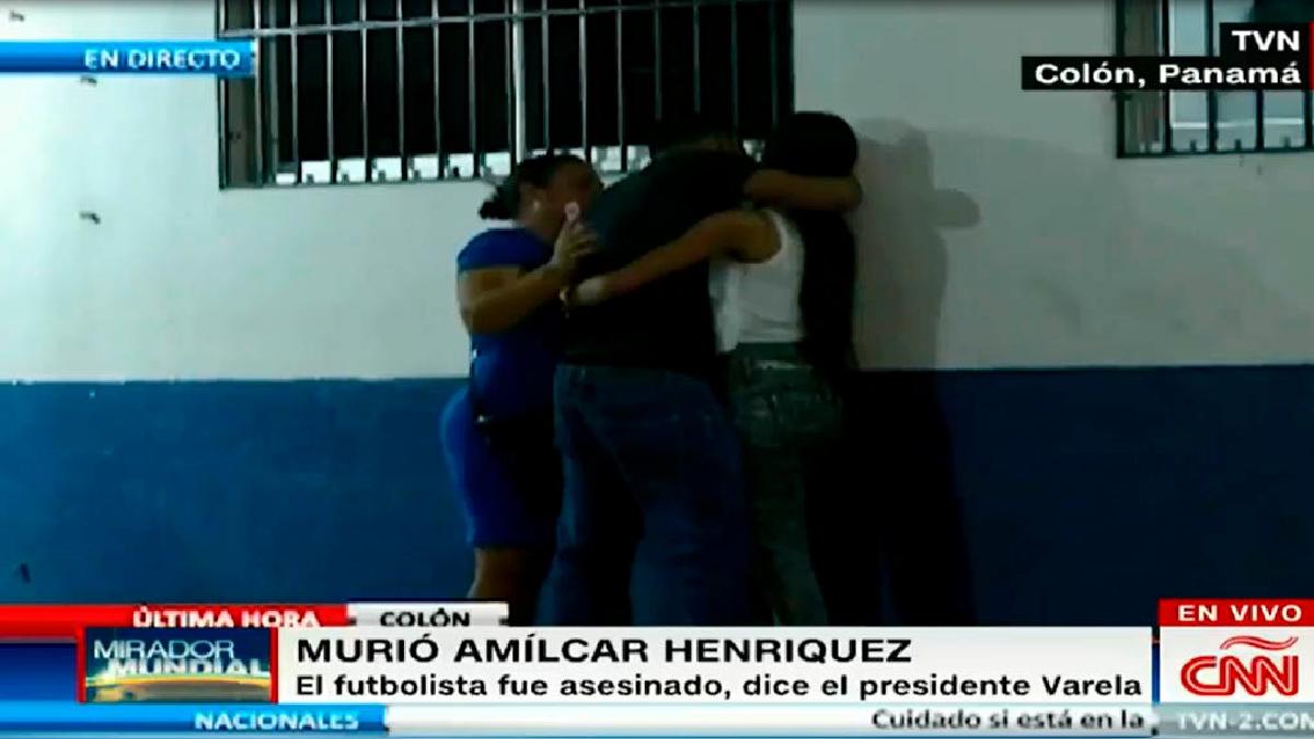 La muerte de Amílcar Henríquez ha causado conmoción en Panamá.