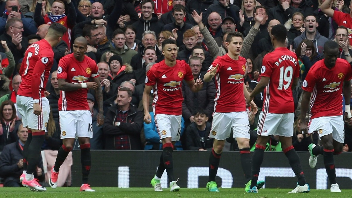 Revivie los goles del Manchester United al Chelsea por la Premier League.