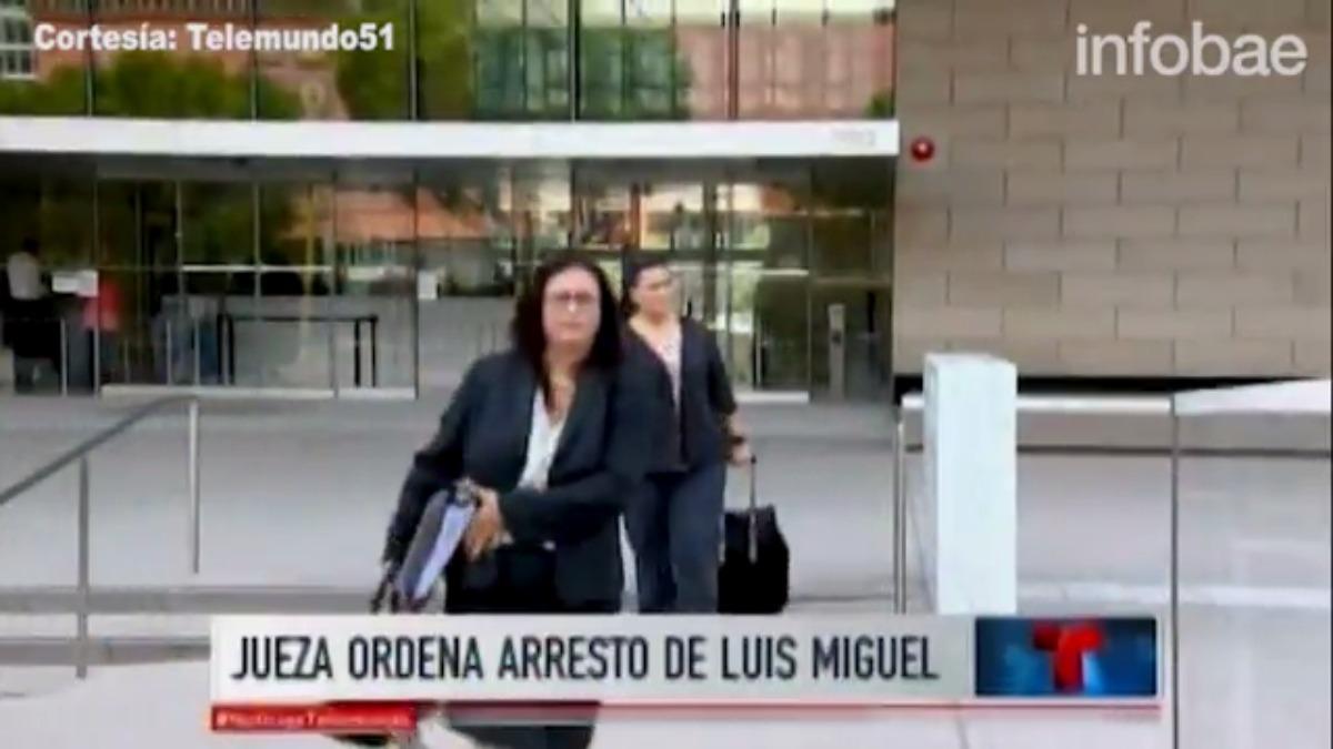 El abogado defensor de Luis Miguel desconocía que se le había enviado varias citaciones anteriores al cantante.