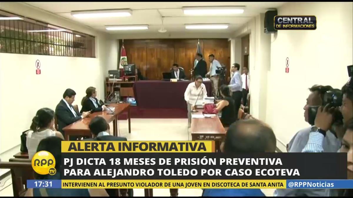 Alejandro Toledo fue presidente del Perú entre 2001 y 2006.