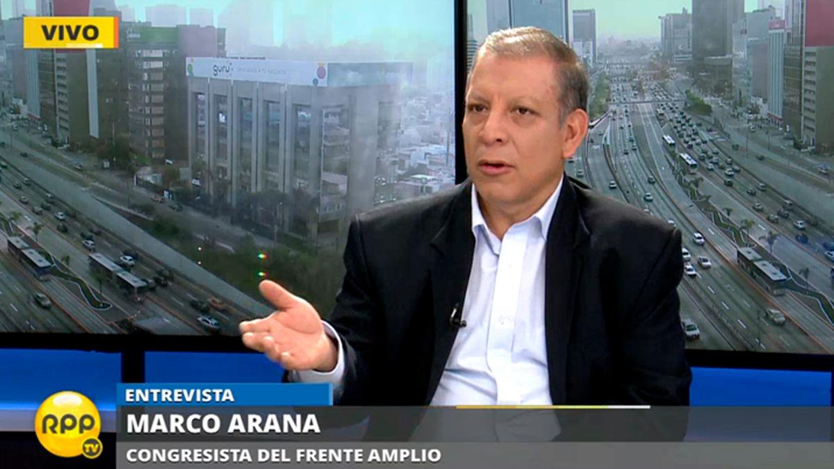 Marco Arana habló tras la polémica generada por Justiniano Apaza, congresista de su bancada.