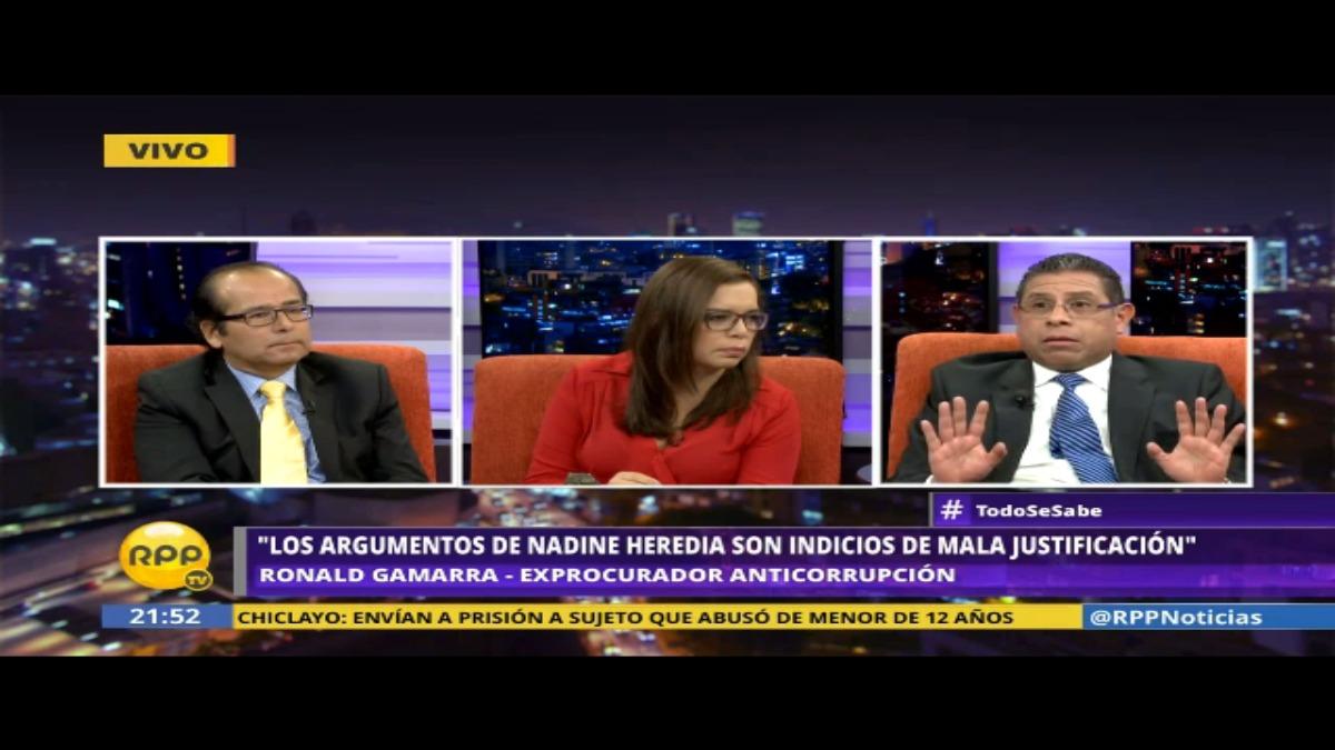 Los abogados comentan sobre el caso del expresidente Humala y la presunta entrega de los 3 millones de dólares de la empresa Odebrecht
