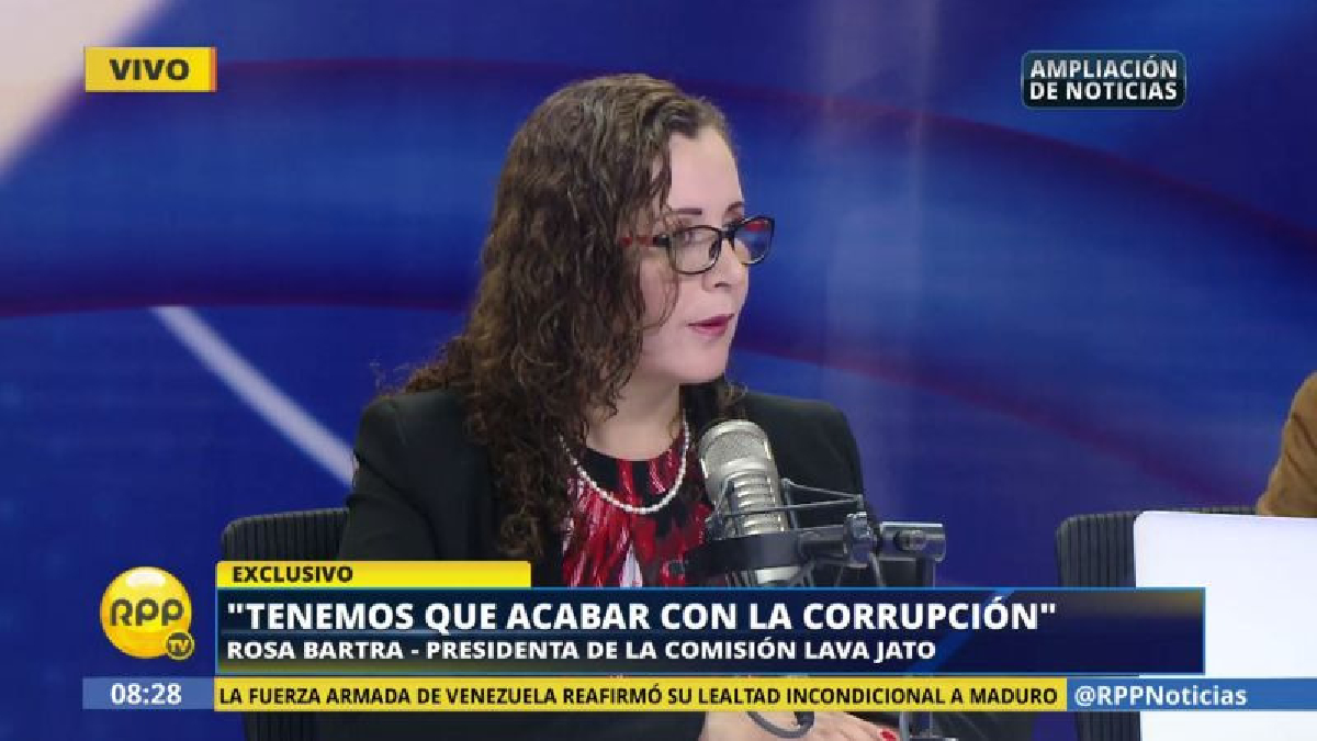 Rosa Bartra dijo que no tiene pruebas para afirmar que desde la Presidencia del Consejo de Ministros se paga a troles de las redes sociales.