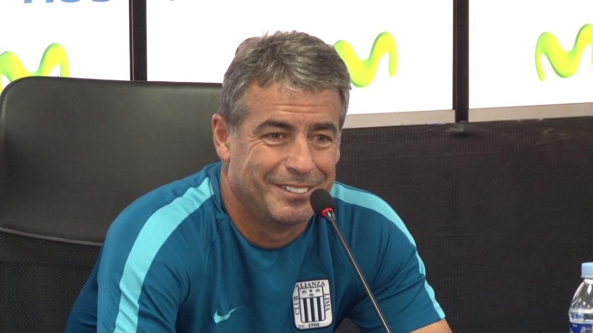 Pablo Bengoechea conoce a Mauro Guevgeozián pero confía en sus delanteros.