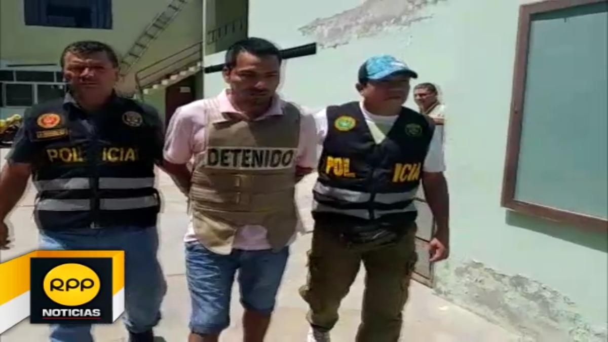 Presunto sicario detenido por integrar organización criminal de Tumbes
