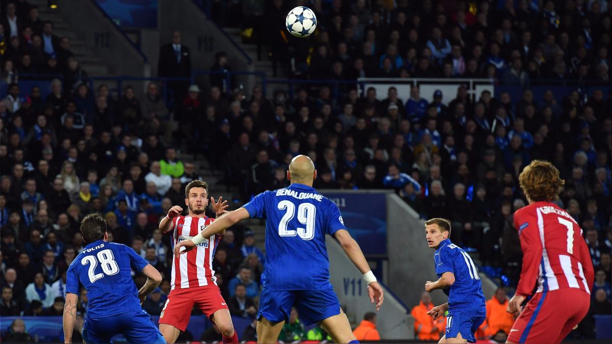 Revive el gol de Saúl al Leicester City.