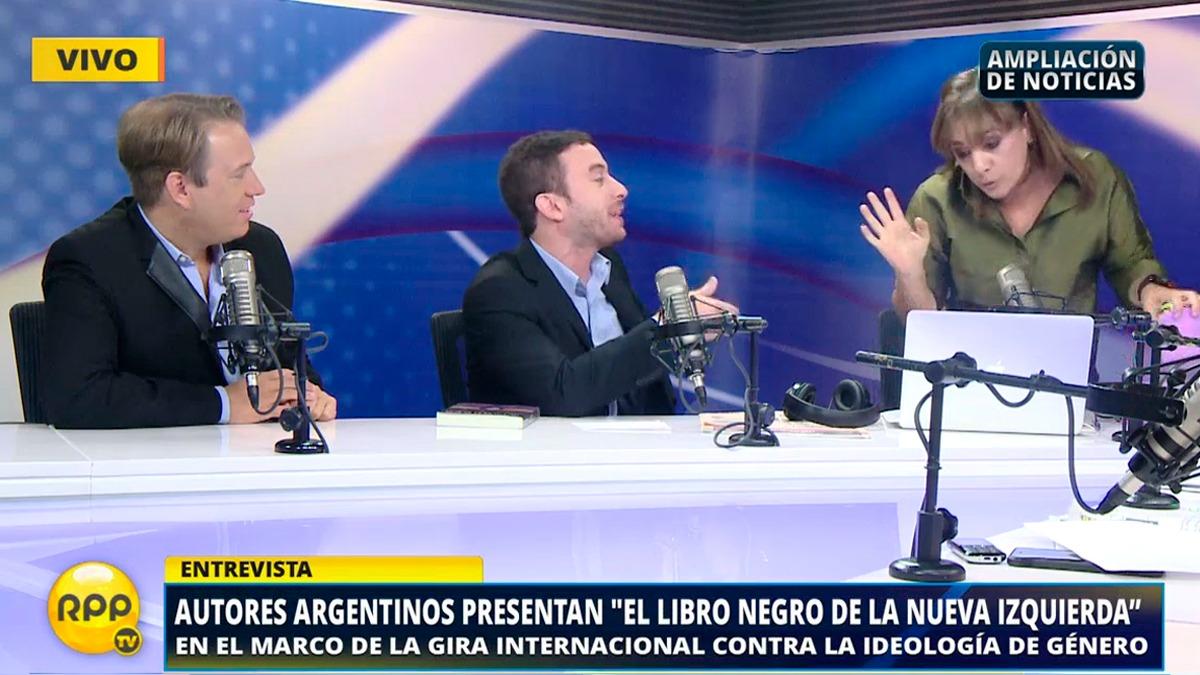 Así fue el debate entre Patricia del Río y los autores argentinos.