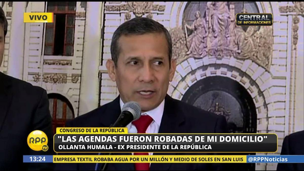 El exmandatario asistió este miércoles al Congreso para responder sobre la presunta injerencia de Heredia durante su Gobierno.