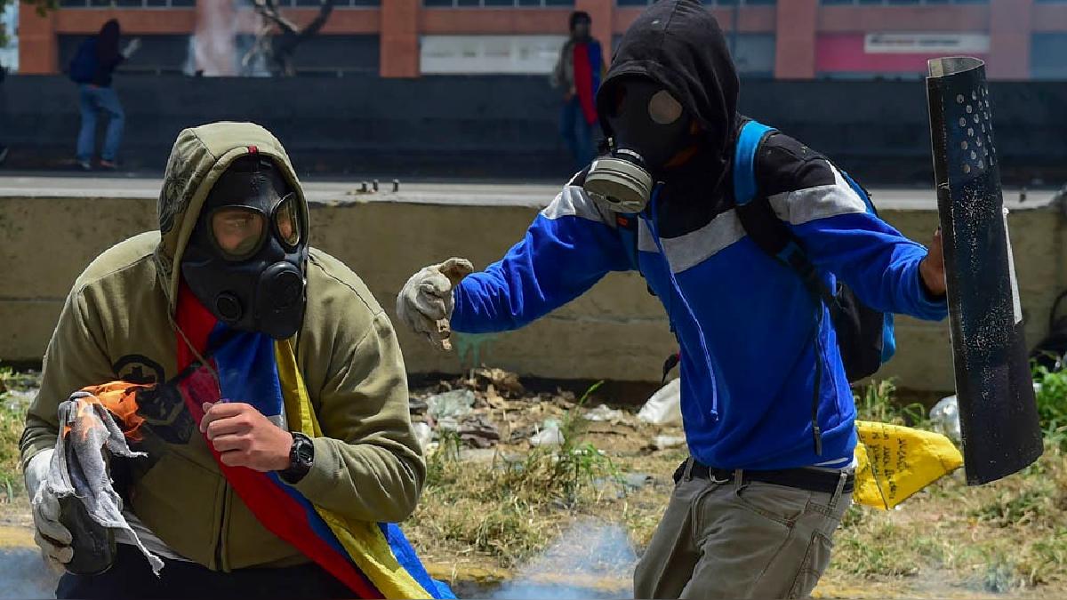 La oposición realiza marchas contra el régimen de Nicolás Maduro desde hace varias semanas en Venezuela.