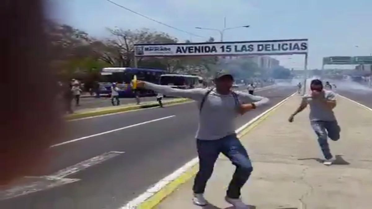 Venezuela es escenario el día de hoy de marchas a favor y en contra del Gobierno de Nicolás Maduro.