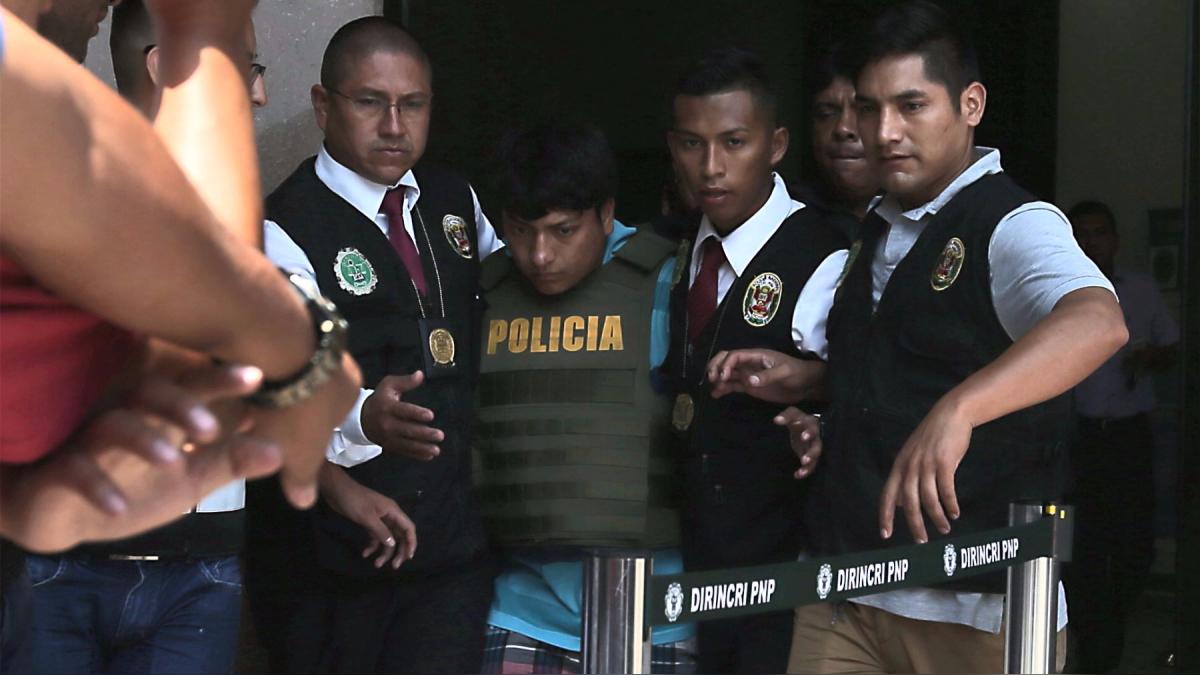 John Pizarro fue detenido por la violación de una joven en una discoteca.