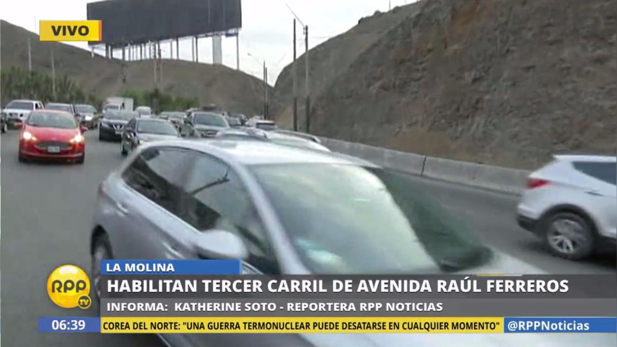 Estos días los vecinos de La Molina han padecido la congestión vehicular para salir del distrito.