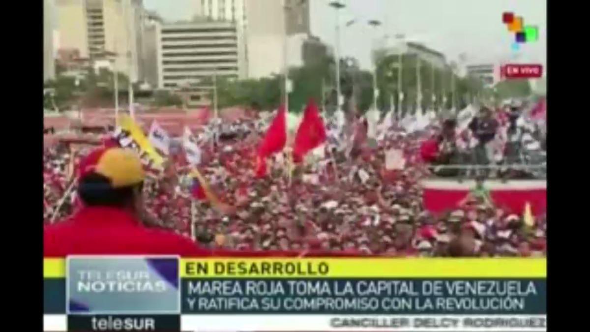 Nicolás Maduro cuestionó duramente a la oposición.