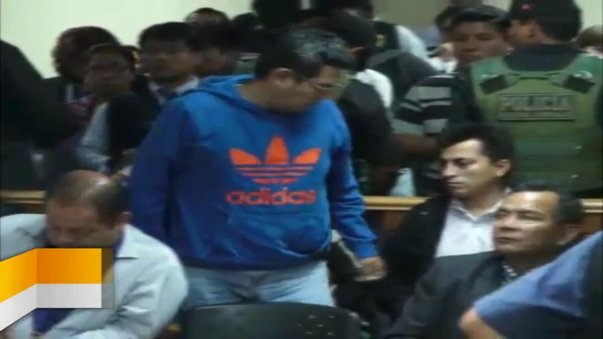 Ambos purgan prisión preventiva en el penal de Chiclayo