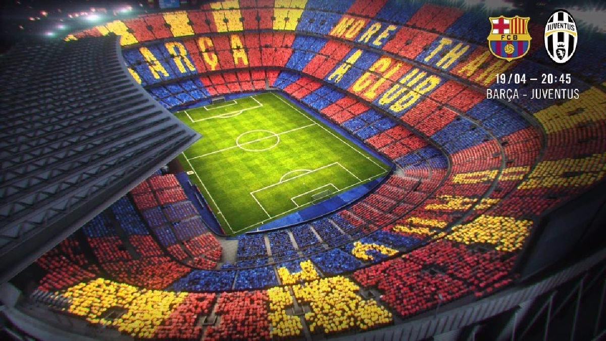 El Camp Nou espera una asistencia de aproximadamente 90 mil hinchas.