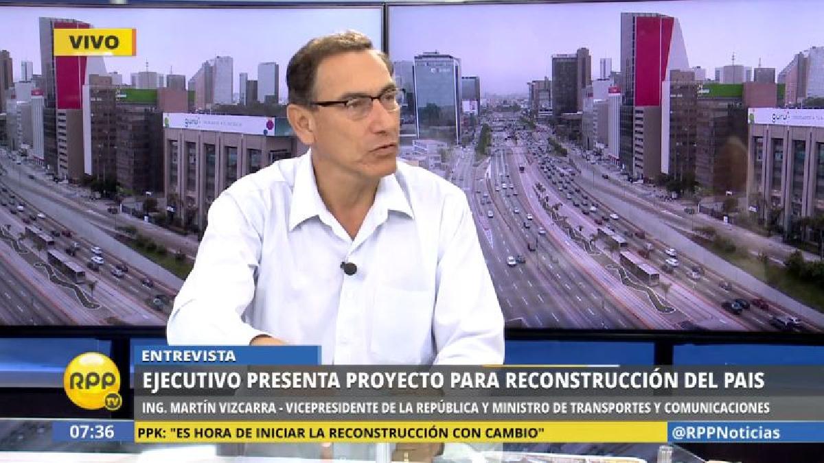 Vizcarra dijo que se reubicará a las poblaciones que actualmente vive en zonas críticas.