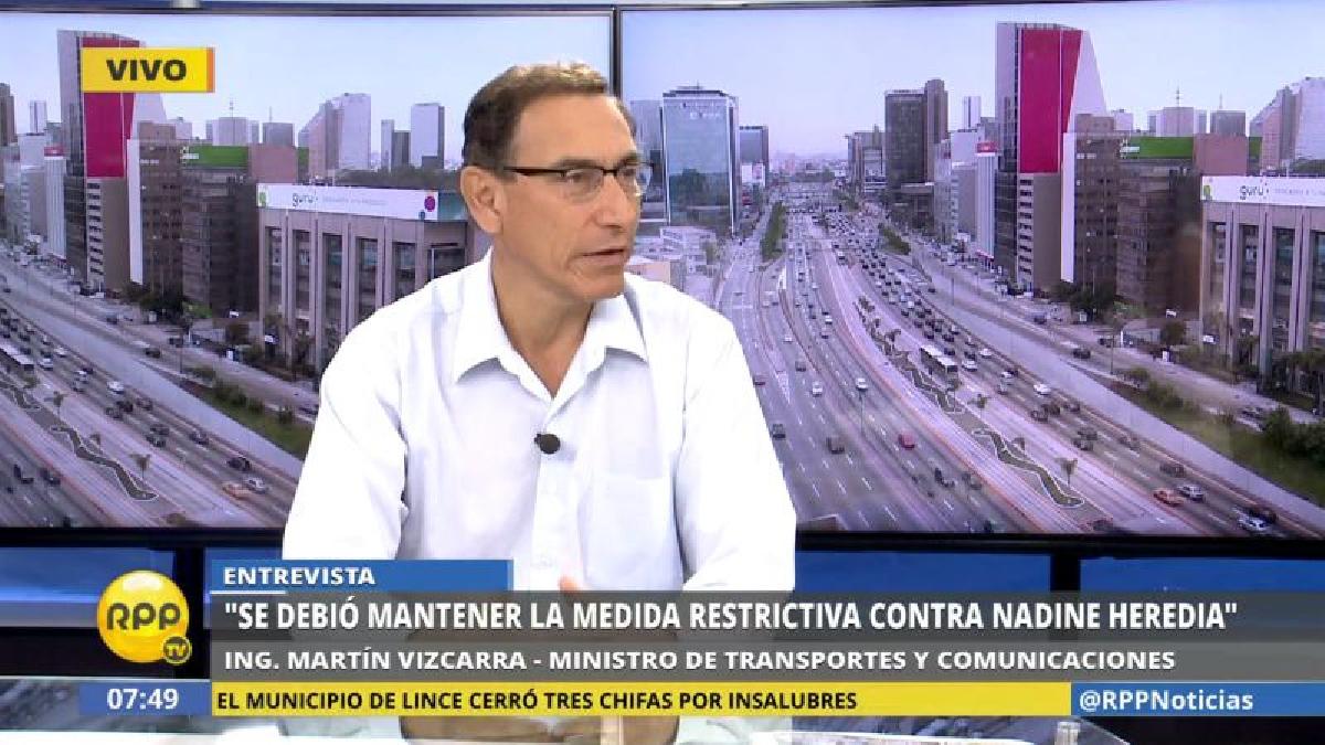 """Martín Vizcarra calificó de """"contradictoria"""" la decisión del Poder Judicial."""