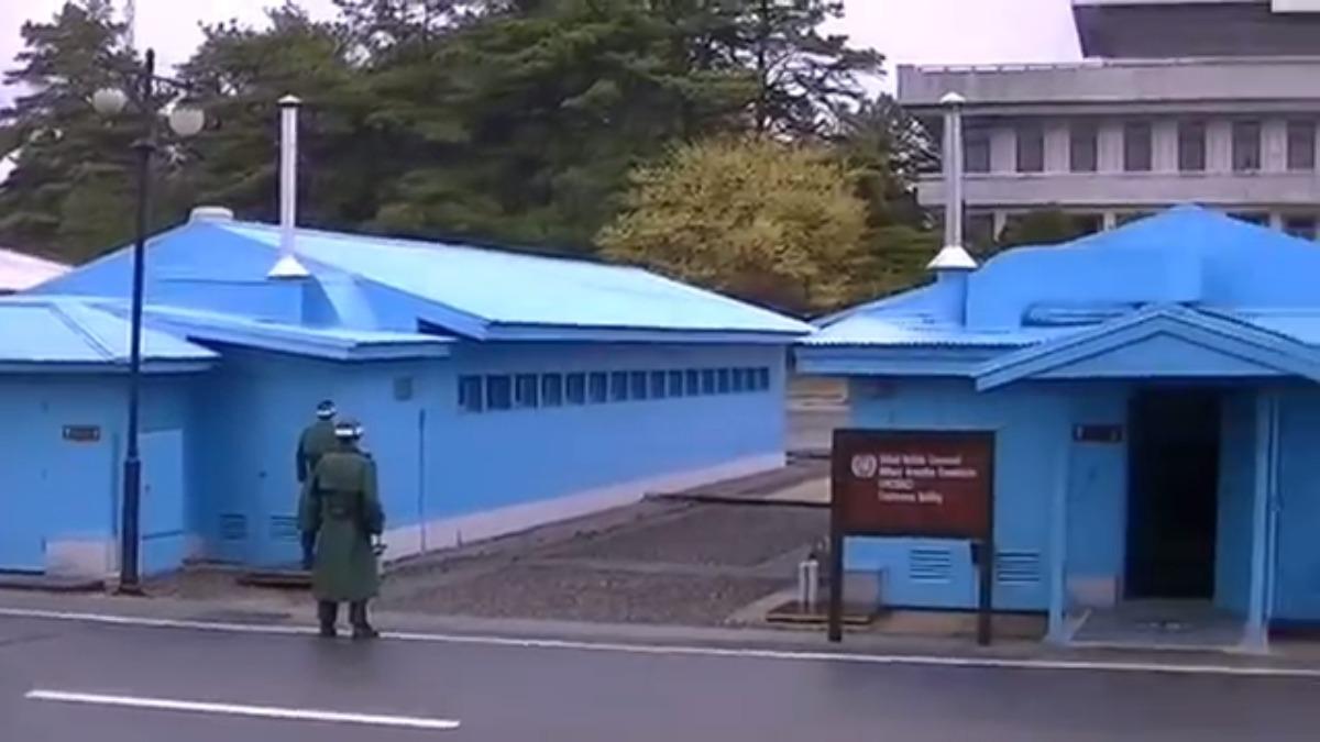 El video de una visita a la zona desmilitarizada.