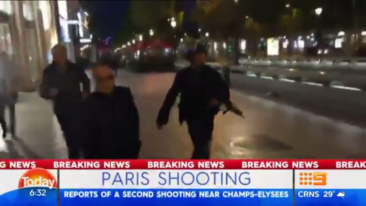 El ministerio del Interior indicó que el agresor que abrió fuego contra los agentes fue abatido.