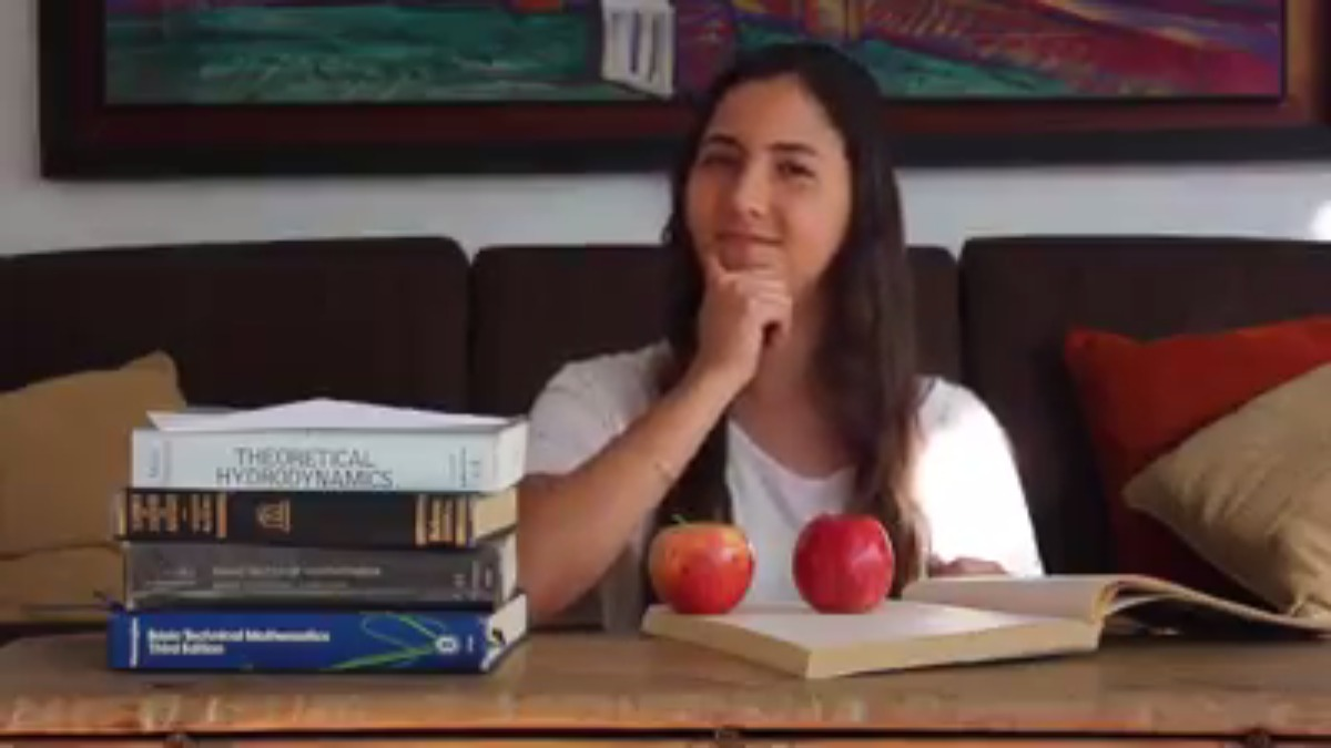 Este es el video con el cual Antonella Masini participó en el Breakthrough Junior Challenge 2016