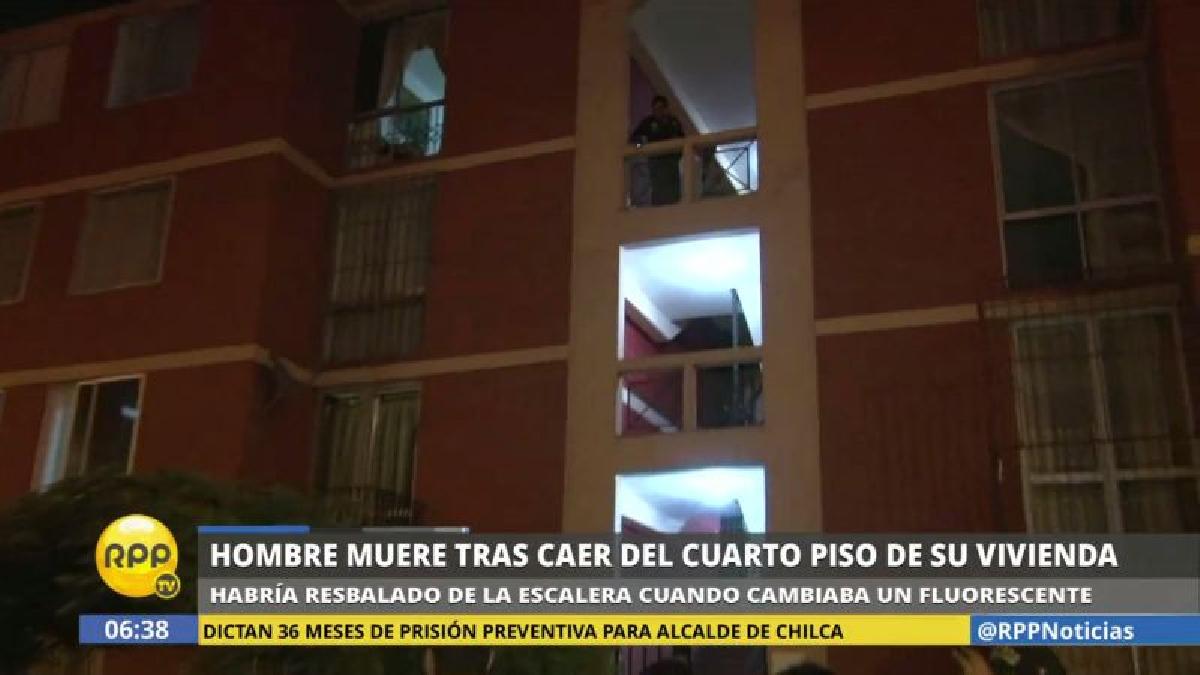 El accidente ocurrió en la avenida Álvarez Calderón, en la residencial Las Torres de Limatambo.