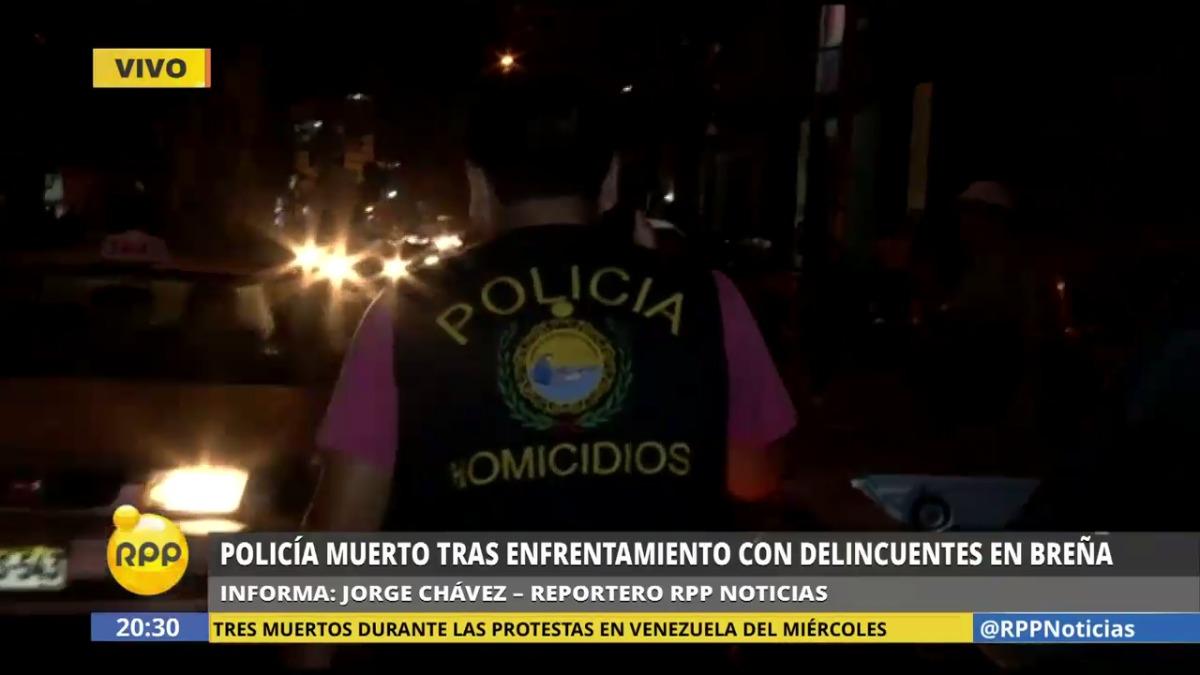 El fallecido pertenecía al Departamento de Investigación Criminal (Depincri) del Agustino.