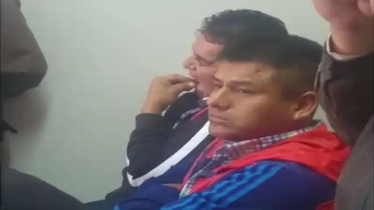 Ambos agentes del orden fueron traídos desde Echarate acusados de recibir coima de 200 soles.