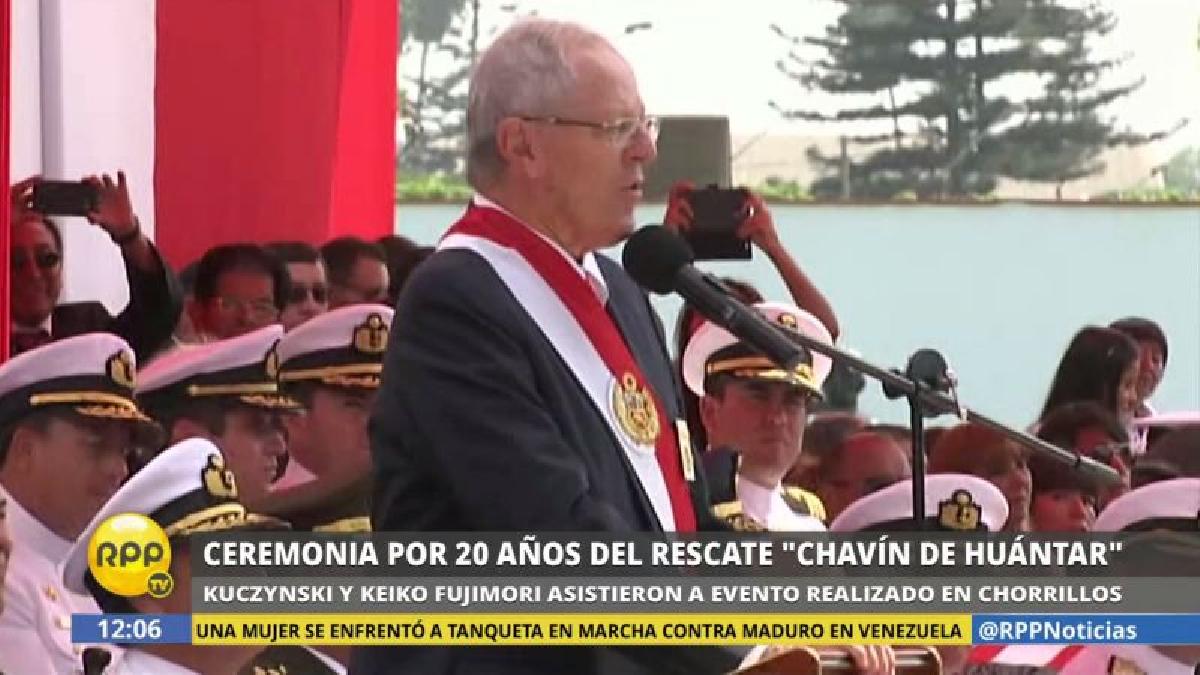 """PPK resaltó que los comandos y los rehenes del MRTA """"fueron actores importantes de la paz""""."""